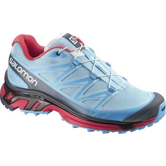 Salomon Wings PRO W air blue line papaya-B - UK 6 5f218dad271