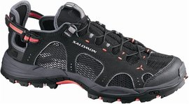 Salomon Techamphibian 3 W black/dark cloud/papaya - UK 5,5
