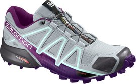 Salomon Speedcross 4 W quarry/acai/fair aqua - UK 4
