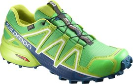 Salomon Speedcross 4 GTX gr/lime green/poseidon - UK 8,5