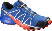 Salomon Speedcross 4 blue/black/orange - UK 8